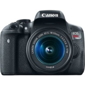 Canon EOS Rebel T6i 24.2 Megapixel Digital SLR Camera with Lens - 18 mm - 55 mm