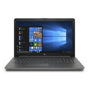HP 15-DB0010NR, Smoke Gray 15.6 inch Laptop, Windows 10, E2-9000e QC Processor, 4GB Memory, 500GB Hard Drive, UMA Graphics, DVD