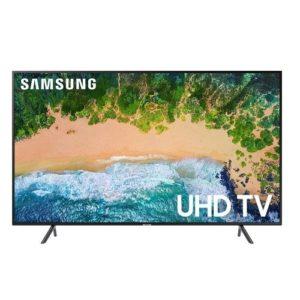 Samsung 55 Inch Flat 4K UHD HDR Smart TV - UN55NU7100FXZA