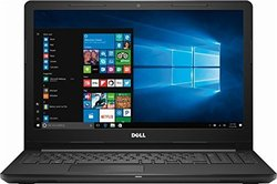 "Dell Inspiron 15.6"" Laptop 2.0GHz 4GB 500GB Windows 10 - Black"