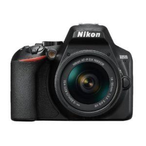 Nikon D3500 DX-format DSLR Camera W/ AF-P DX NIKKOR 18-55mm Lens (Black)