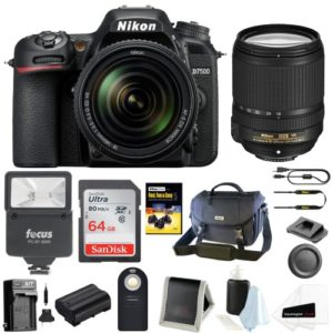 Nikon D7500 DSLR Camera with 18-140 VR Lens and Nikon Bag Bundle