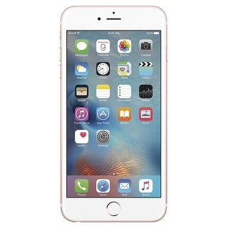 Apple iPhone 6s Plus 16GB Unlocked GSM 4G LTE 12MP Cell Phone (Certified Refurbished) (rose gold)