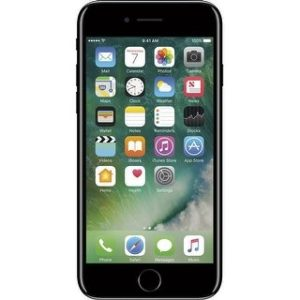 Apple iPhone 7 128GB Unlocked GSM Quad-Core Phone w/ 12MP Camera (Certified Refurbished) (Jet Black)
