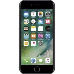 Apple iPhone 7 128GB Unlocked GSM Quad-Core Phone w/ 12MP Camera (Certified Refurbished) (black)