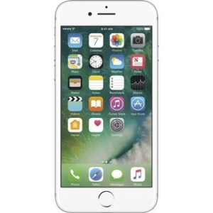 Apple iPhone 7 128GB Unlocked GSM Quad-Core Phone w/ 12MP Camera (Certified Refurbished) (silver)