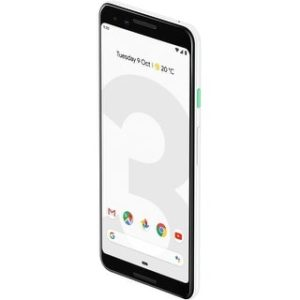 Google Pixel 3 64GB Unlocked GSM & CDMA 4G LTE Android Phone w/ 12.2MP Rear & Dual 8MP Front Camera (clearly white)