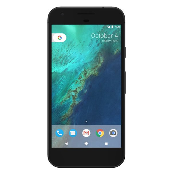 Google Pixel 32GB Unlocked GSM 4G LTE Quad-Core Phone w/ 12.3MP Camera - Quite Black (Quite Black)