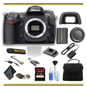 Nikon D300S DSLR Camera Bundle - (Intl Model) (Starter)