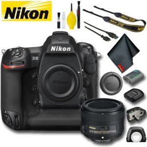 Nikon D5 DSLR Camera (Dual CF Slots) (Intl Model) Bundle (Basic Bundle)