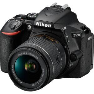 Nikon D5600 DSLR Camera with AF-P DX NIKKOR 18-55mm f/3.5-5.6G VR Lens