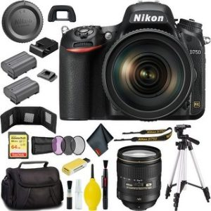 Nikon D750 DSLR Camera with 24-120mm Lens Bundle (Master Bundle)