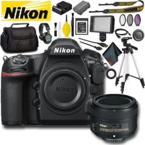 Nikon D850 DSLR Camera (Intl Model) Bundle (Master Bundle)