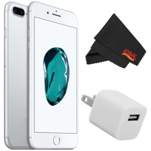 Apple iPhone 7 256GB - Silver (Unlocked) with Accessory Kit (no case)
