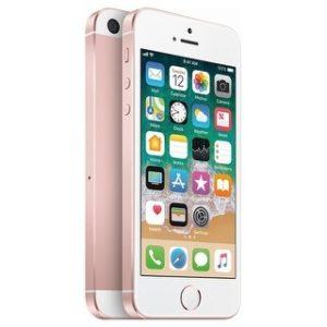 Apple iPhone SE 32GB Unlocked GSM Phone w/ 12MP Camera (Certified Refurbished) (rose gold)