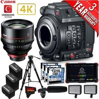 Canon EOS C200 Cinema Camera Intl Model with Canon 85mm Cine Lens (advanced)