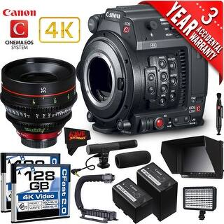 Canon EOS C200 Cinema Camera Intl Version with Canon 35mm Cine Lens (professional)
