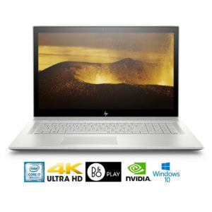 "HP Envy 17-BW011 Intel Core i7-8550U 16GB 17.3"" 4K WLED GeForce MX150 4GB Laptop (Refurbished)"