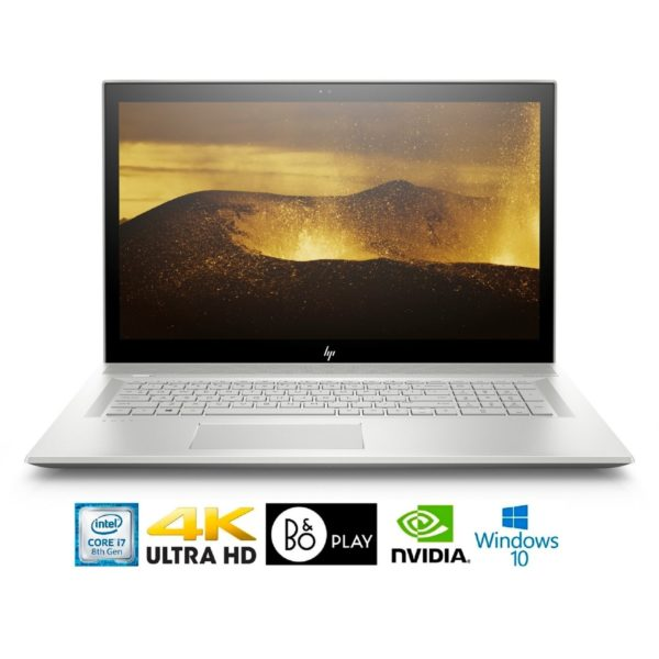 "HP Envy 17-BW011 Intel Core i7-8550U 16GB 17.3"" 4K WLED GeForce MX150 4GB Laptop (Refurbished)"