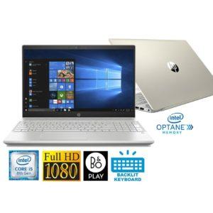 "HP Pavilion 15.6"" Full HD Laptop with Intel i5-8250U 8GB 1TB HDD & B&O Play (Certified Refurbished)"