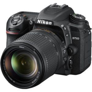 Nikon D7500 DSLR Camera with 18-140mm Lens (International Model) (18-140)