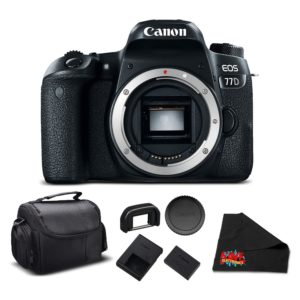 Canon EOS 77D DSLR Bundle (Intl Model) (essential - body only)