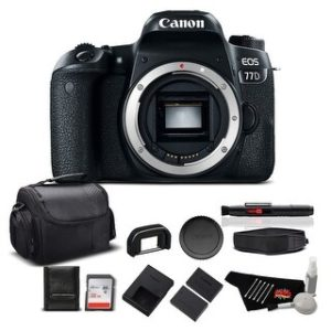 Canon EOS 77D DSLR Bundle (Intl Model) (standard - body only)