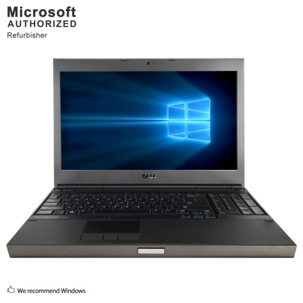 "Dell Precision M4800 15.6"" Laptop Core I7-4710MQ 2.5G 16G RAM 1T DVD 2G DG WIFI Windows 10 Pro (Refurbished A Grade)"