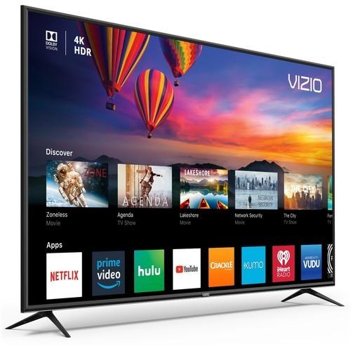 """Vizio E-Series 55"""" 4K 1080p Hdr Smart TV - Black (E55-F1)"""