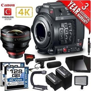 Canon EOS C200 Cinema Camera Intl Version with Canon 135mm Cine Lens (professional)