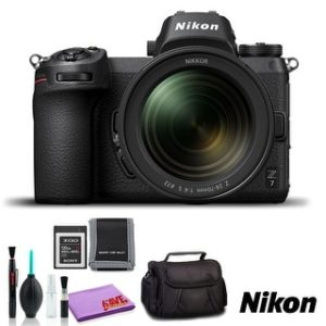 Nikon Z 7 Mirrorless Digital Camera with 24-70mm Lens (Intl Model) (Basic Kit)