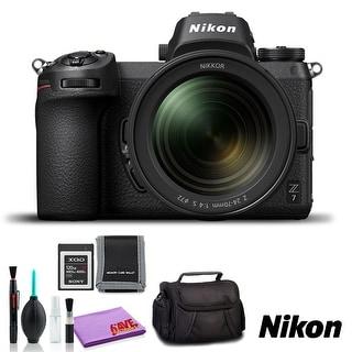 Nikon Z 7 Mirrorless Digital Camera with 24-70mm Lens (Intl Model) (Basic Kit)