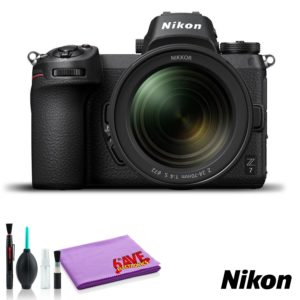 Nikon Z 7 Mirrorless Digital Camera with 24-70mm Lens (Intl Model) (Cleaning Kit)
