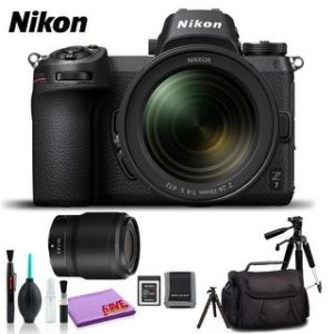 Nikon Z 7 Mirrorless Digital Camera with 24-70mm Lens (Intl Model) (Plus Kit)