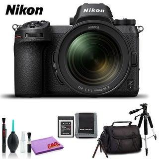 Nikon Z 7 Mirrorless Digital Camera with 24-70mm Lens (Intl Model) (Standard Kit)
