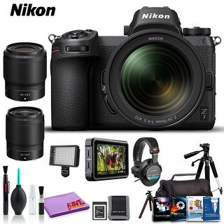 Nikon Z 7 Mirrorless Digital Camera with 24-70mm Lens (Intl Model) (Ultimate Kit)